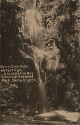 View of Berry Creek Falls