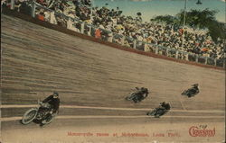 Motorcycle Races at Motordome, Luna Park