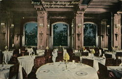 Dining Room, St. Anthony Hotel