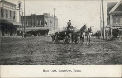 Hose Cart Postcard