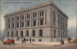 New Government Building Postcard