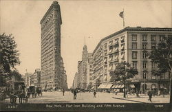 Flat Iron Building and Fifth Avenue
