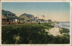Bay Front - Looking West - Fire Island Beach
