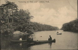 Canoeing on Deal Lake