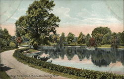 Glimpse of the Lake, Downing Park
