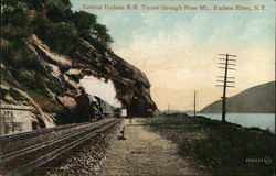 Central Hudson RR Tunnel Through Nose Mountain