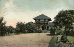 Driveway and Observatory, Downing Park