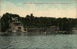 Noted Boat Clubs Along the Lake, Orange Lake