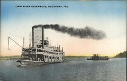 Ohio River Steamboat