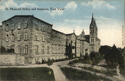 St. Meinrad Abbey and Seminary, East View