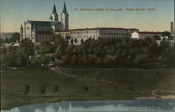 St. Meinrad Abbey & College, From South West