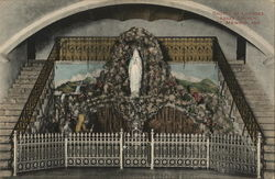 Grotto of Lourdes, Abbey Church