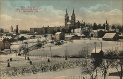 Mid-Winter, St. Meinrad's Abbey