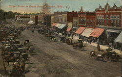 Street Scene in Great Bend, Kansas 1908