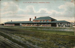 C& N.W.RY.Depot