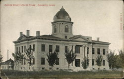 Canyon County Court House Postcard