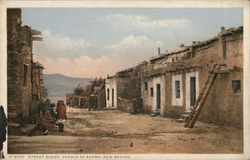Street Scene, Pueblo of Acoma, New Mexico