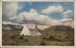 Teepees In Apache Land