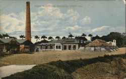 Sugar Plantation, Steam Mill - Bromid Chromo Advertising