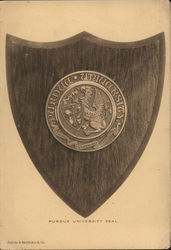 Purdue University Seal Plaque