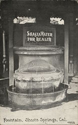 "Fountain, ""Shasta Water for Health"""