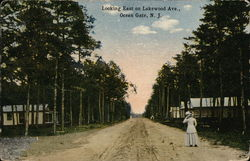 Looking East on Lakewood Ave.