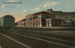 Depot, View from Across the Tracks