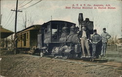 A. T. & T. Co., Best Paying Railroad in United States