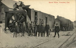 Rotary Snow Plow - Southern Pacific Railroad