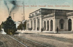 Western Pacific Railroad Passenger Station