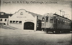 S.F.N. & C. Railway Depot
