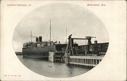 Loading Carferry at Manitowoc, Wis