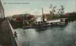 A Sternwheeler on the River