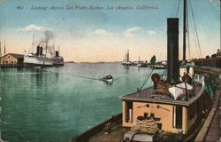 Looking across San Pedro Harbor