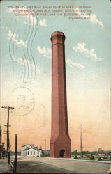 Largest Brick Smoke Stack in the United States