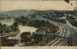 The Town of Little Falls N.Y Postcard
