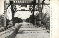Main Street, Levee and Bridge