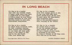 """In Long Beach"" by Haven Charles Hurst"