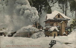 Southern Pacific Rotary Snow Plow on the Shasta Route