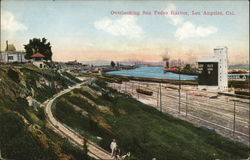 Overlooking San Pedro Harbor