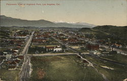 Panoramic View of Highland Park