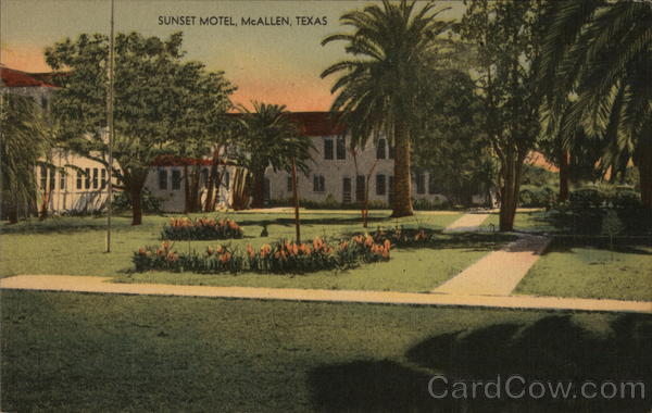 Sunset Motel McAllen Texas