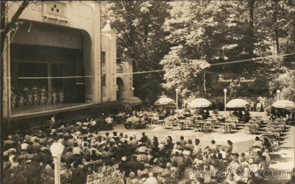 A Large Stage with Performers and an Audience Benton Harbor Michigan