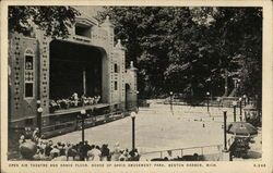 Open Air Theatre and Dance Floor, House of David Amusement Park