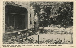 House of David Amusement Park - Open Air Theatre and Dance Floor