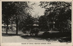 House of David, View of Grounds, Buildings Postcard