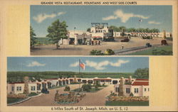 Grande Vista Restaurant, Fountains and West Side Courts