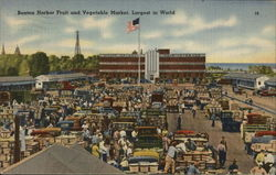 Benton Harbor Fruit and Vegetable Market, Largest in the World
