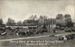House of David - Dairy Herd at Miniature Railway Depot