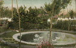 View of Eden Springs Park, House of David
